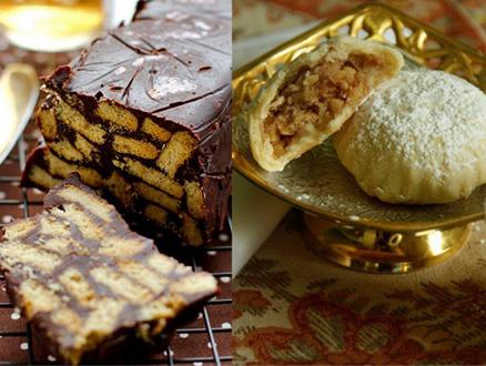 Elmalı Kurabiye ve Mozaik Pasta Tarifiyle Çay Daha Keyifli