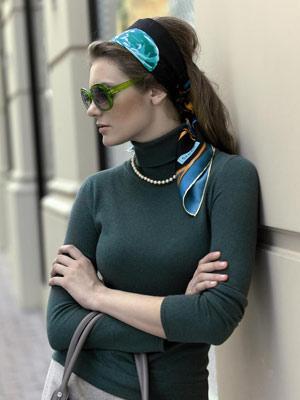 2009 Yazında Bayanlar Burberry Eşarpları İle Taçlanacak