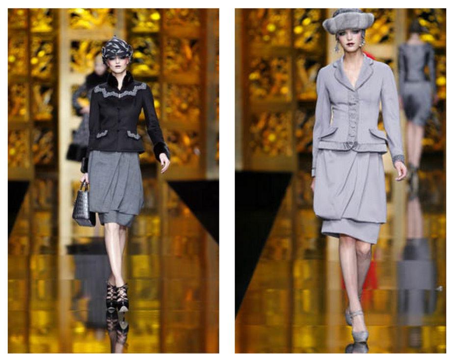 dior 2010 koleksiyonu ceket modelleri