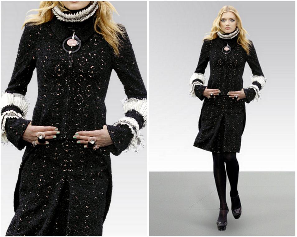2010 manto ve pardösü modelleri Chanel 2