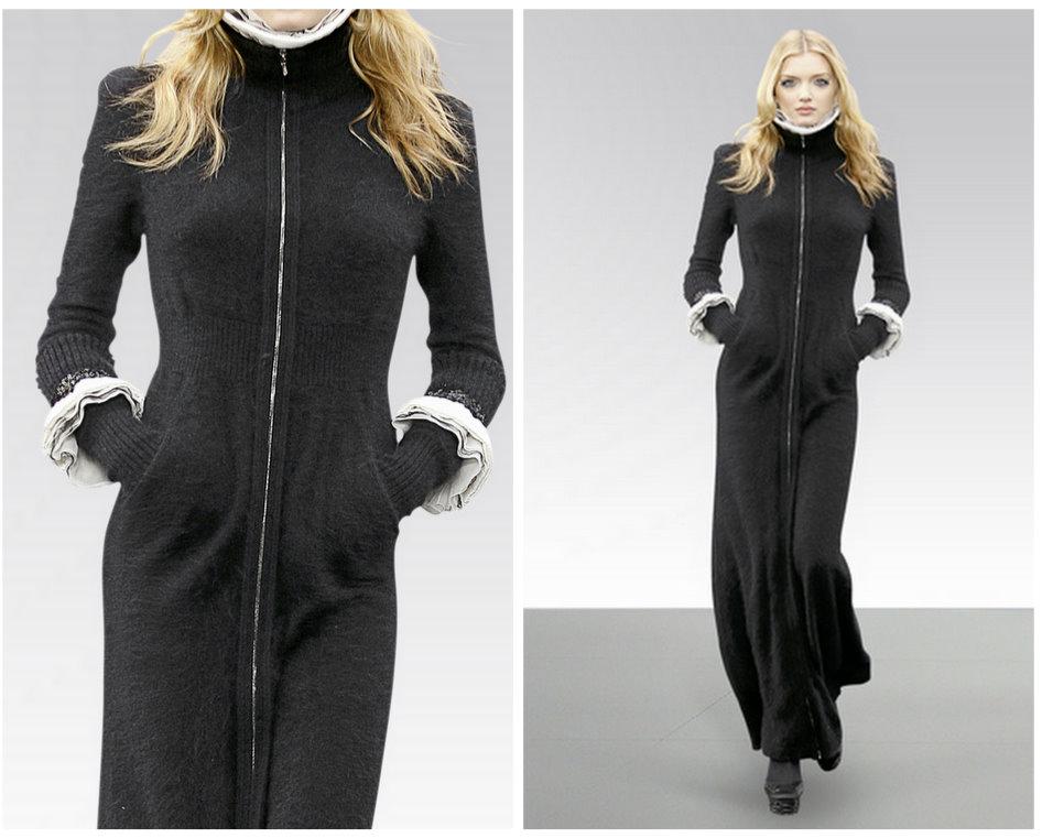 2010 manto ve pardösü modelleri Chanel 7