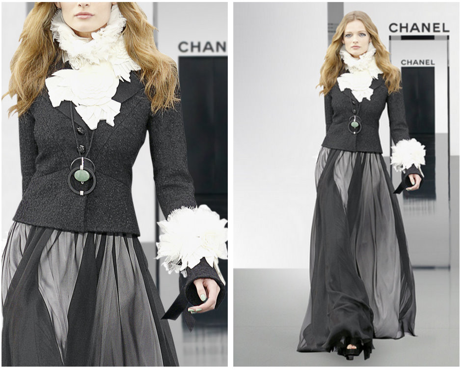Chanel'den Tesettürlü Bayanlar İçin Abiye Modelleri
