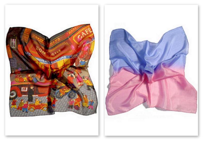 Silk ve Cashmere Eşarp Modelleri