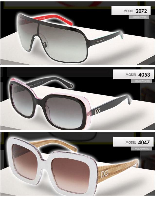 dolce gabbana 2010 güneş gözlükleri 1