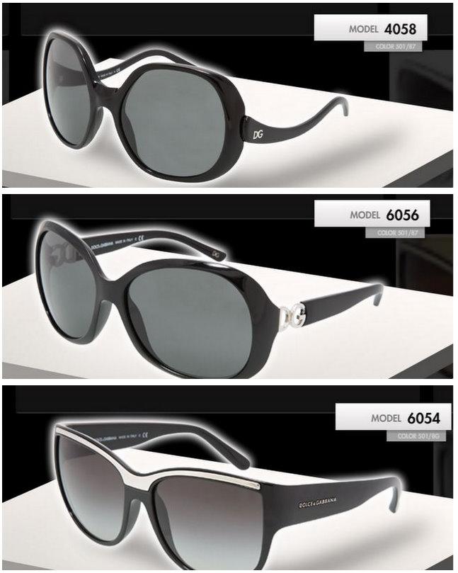 dolce gabbana 2010 güneş gözlükleri 3