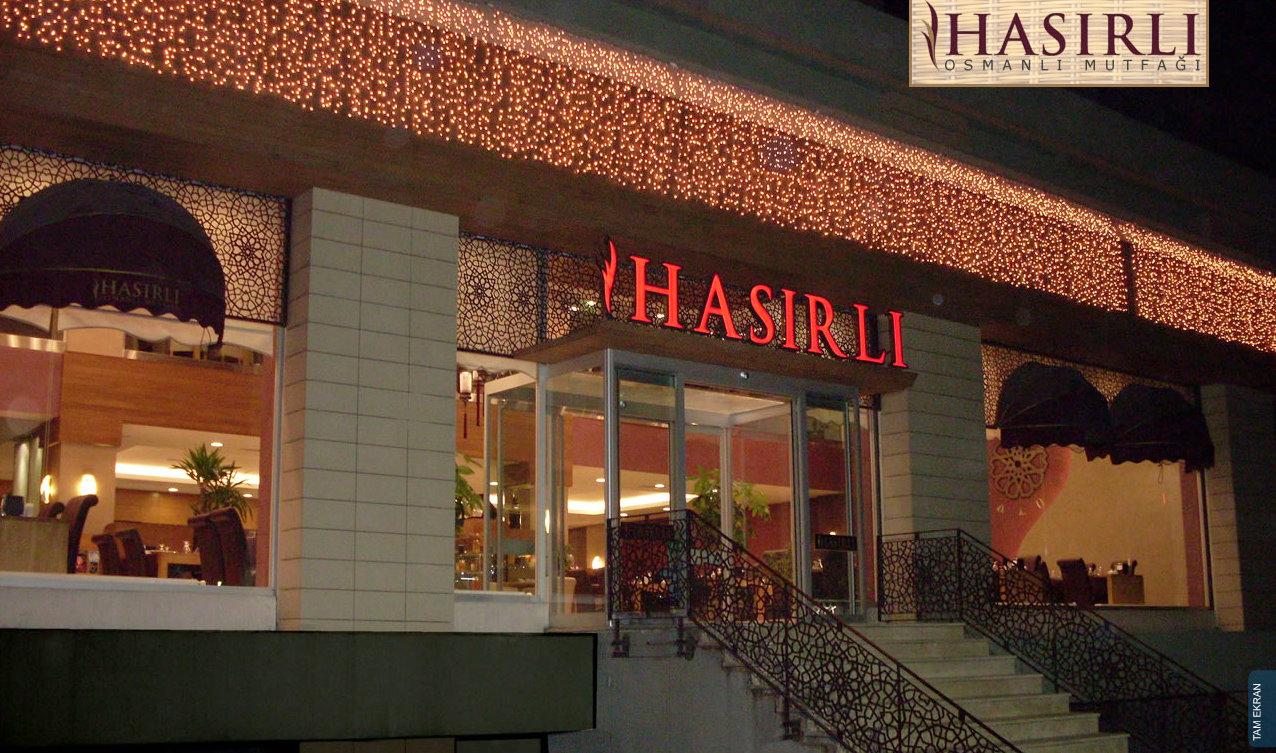 Osmanlı Mutfak Kültürünün Yaşatıldığı Hasırlı Restoran
