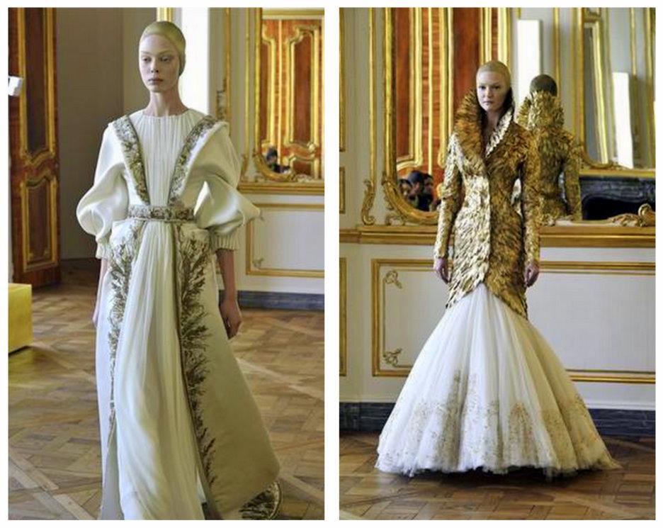 Alexander McQueen   2010-2011 Sonbahar Kış koleksiyonu 1