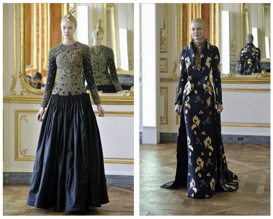Alexander McQueen   2010-2011 Sonbahar Kış koleksiyonu 2