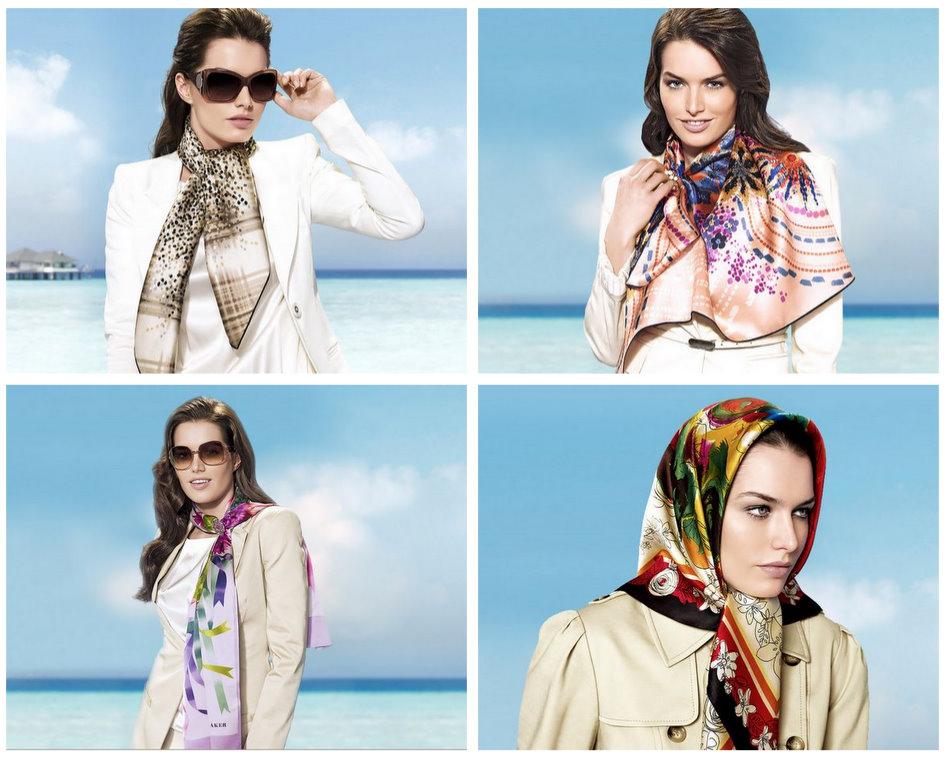 2010-2011 Aker Eşarp Modelleri