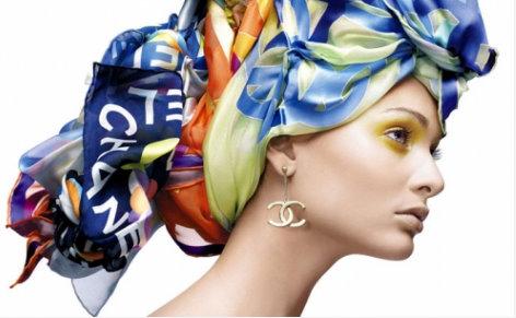 Chanel 2010-2011 Eşarp Modelleri