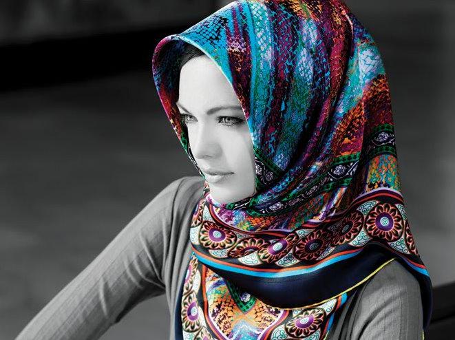 Karaca Eşarp Modelleri