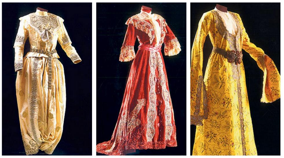 Osmanlı kıyafetlerini günümüze taşıdı