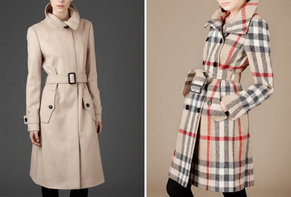 Burberry 2011-2012 Manto ve Kaban Modelleri