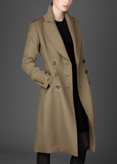 2011 K%C4%B1%C5%9F Manto Modelleri Burberry 2012 Sonbahar Kış Koleksiyonunda Trençkot Modelleri