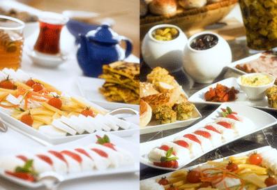 İçkisiz-Alkolsüz Kahvaltı Keyfi Akdeniz Hatay Sofrası'nda Çıkarılır