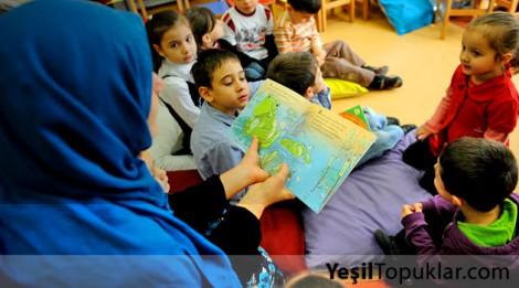 Masal Saati, Çocukları Kütüphane Müdavimi Yaptı