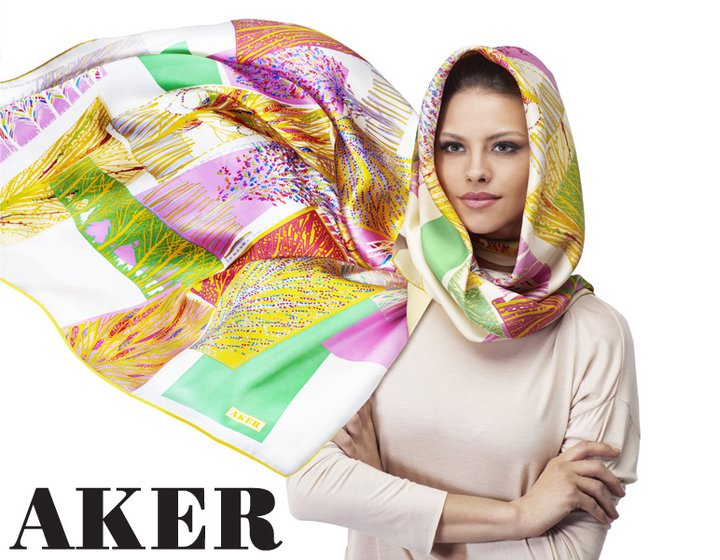 Aker 2011 Eşarp Modelleri