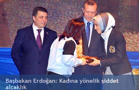 Başbakan Erdoğan: Kadına Yönelik Şiddet Alçaklık