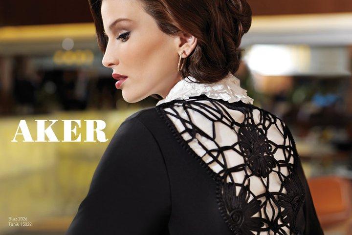 Aker 2011 Tesettür Abiye Giyim Modelleri