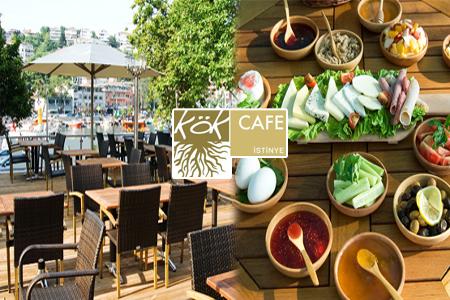 İstinye Koyu'nda Kahvaltı Keyfi, Kök Cafe