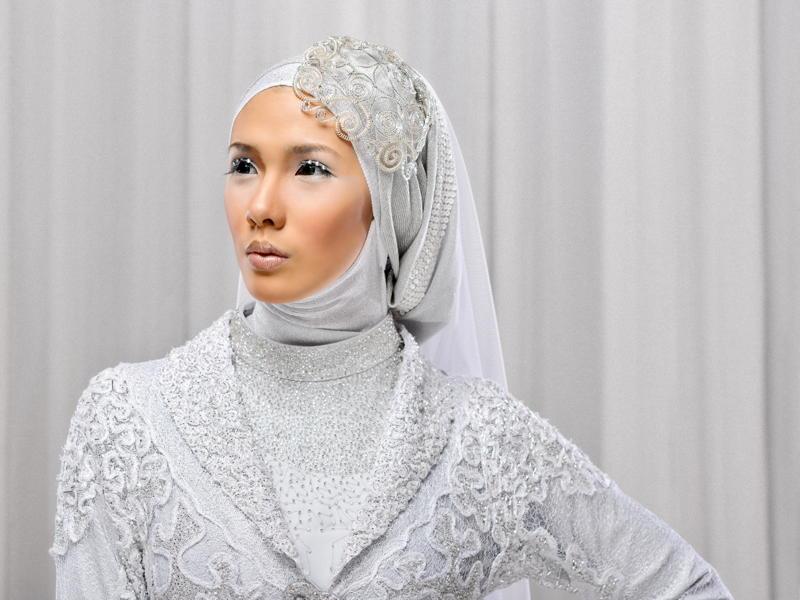 Irna la Perle Tesettür Gelinlik Modelleri
