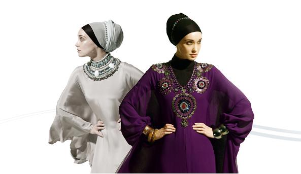 Tesettür Abiye Modelleri 2011-2012