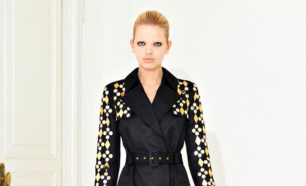 Versace 2012 Kış Koleksiyonu Tunik/Manto Modelleri