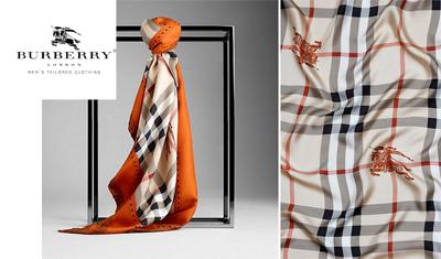 Burberry Eşarp 2011-2012 Sonbahar-Kış Koleksiyonu