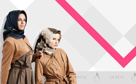 Armine 2012 Sonbahar-Kış Eşarp Modelleri