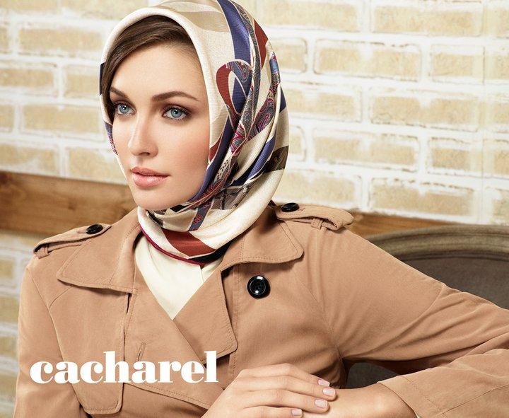 Cacharel Eşarp 2012 Koleksiyonu İle Seyahatlerinizin Vazgeçilmezi Oluyor!