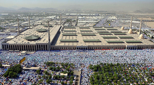 Gökyüzünden Arafat Manzaraları…