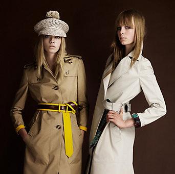 Burberry 2012 Sonbahar-Kış Trençkot Modelleri (1)