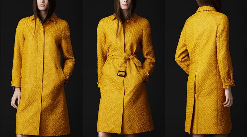 Burberry 2012 Trençkot Modelleri İle Sonbahar Çok Şık Geçecek…
