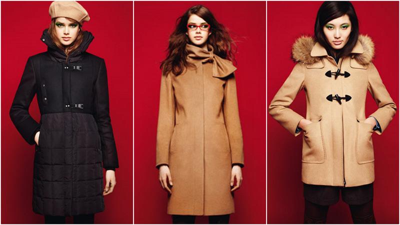 Şık ve moda kabanlar 2012 modası icin kışlık kaban modelleri