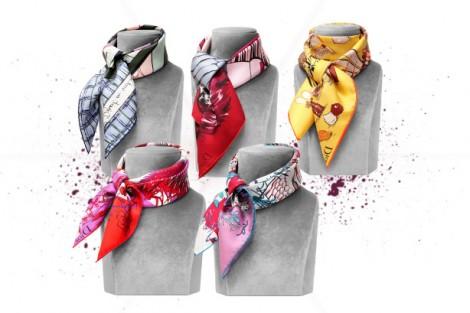 Dior 2012 Eşarp Koleksiyonu
