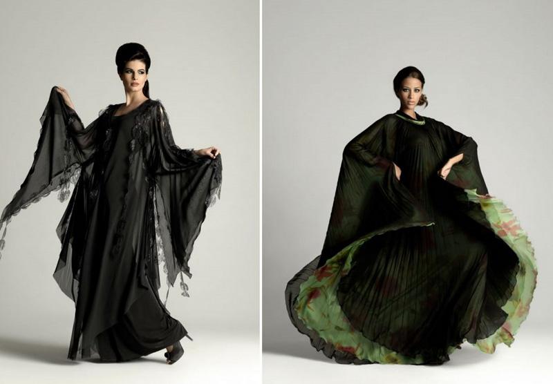 Dubai Fashion Week'ten Tesettür Abiye Elbise Modelleri
