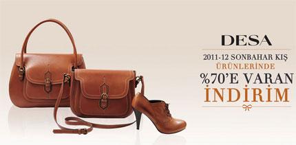 Desa 2012 Kış Ürünlerinde %70 İndirim!