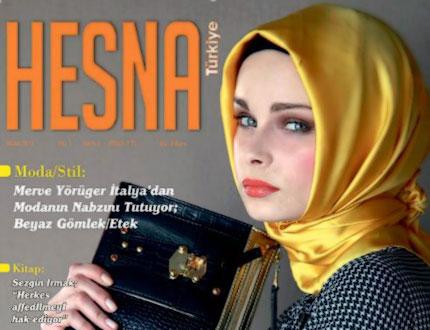 """Tesettür Giyimin Dergisi """"HESNA"""""""