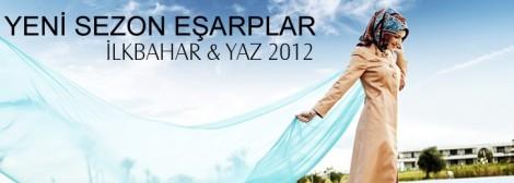 Armine 2012 Şal-Eşarp Modelleri