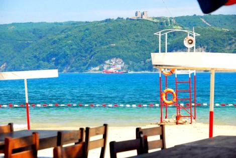 Sarıyer'in Gözde Altınkum Kadınlar Plajı