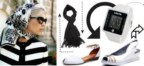 Tesettür Giyim Kombini: Grafik Desenler