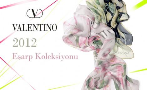 Valentino Eşarp Modelleri 2012