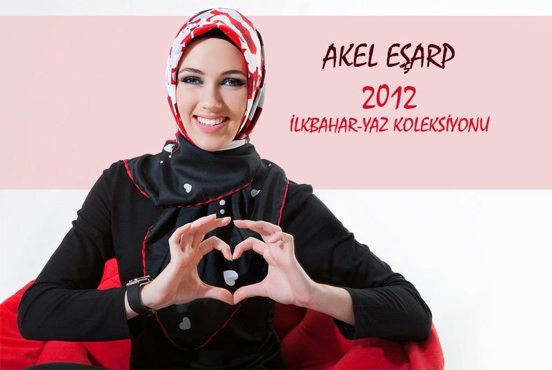 Akel 2012 Eşarp Modelleri
