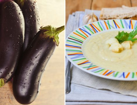 Közlenmiş Patlıcan Çorbası