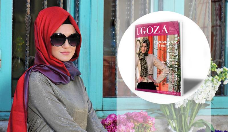 Ugoza Eşarp'tan Dergi Gibi Katalog!