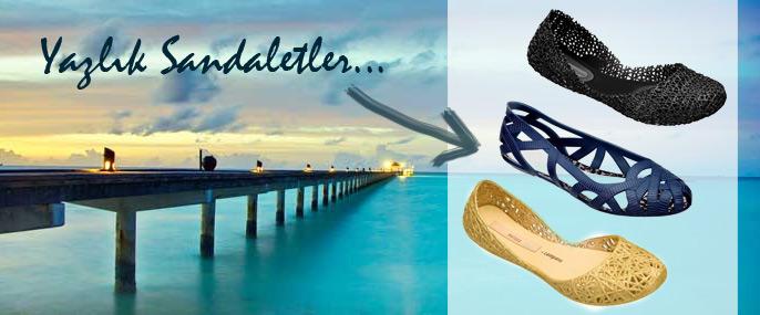 Yazlık-Sandaletler