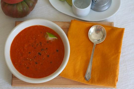 baharatlı yaz çorbası