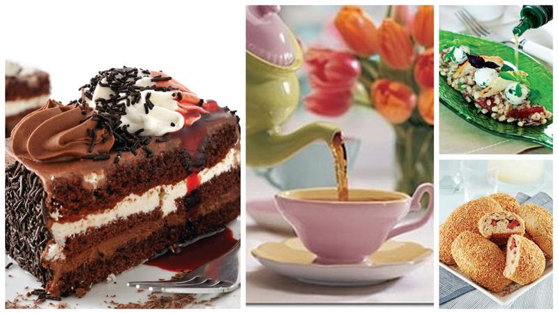 Çay Saatleriniz İçin Tatlı ve Tuzlu İkramlıklar