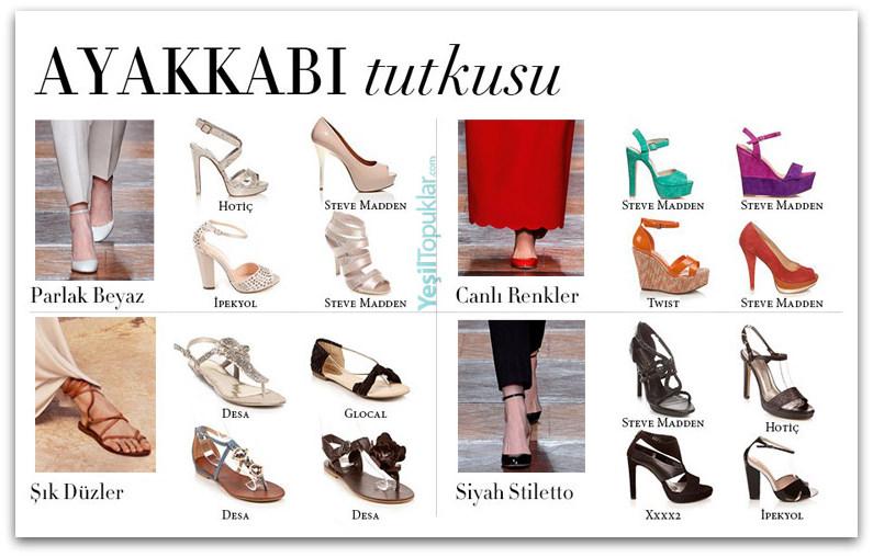 2012-2013 Ayakkabı Modelleri