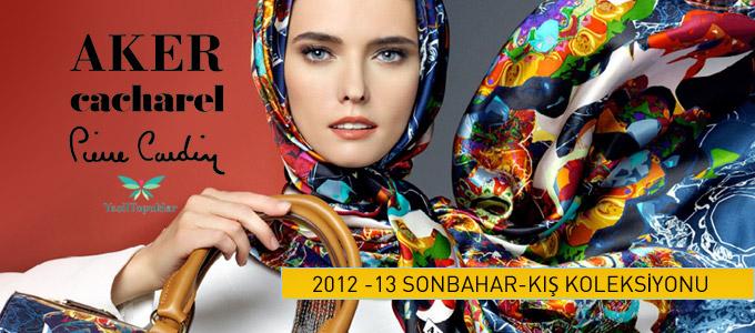 Aker-Cacharel-Pierre-Cardin-Eşarp-2012-2013-sonbahar-kış-Modelleri-ve-İndirimleri